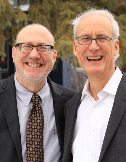 Rep. Frank Hornstein & Bob Walser